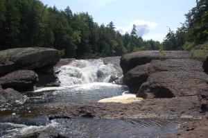 Sandstone Falls Gogebic County Wide