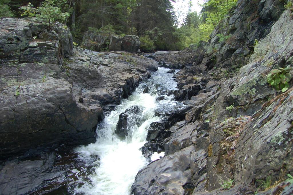 Silver Falls, Baraga County