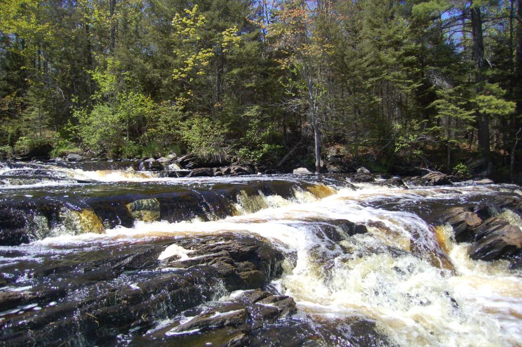 Tibbets Falls, Baraga County