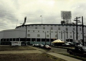 Outside View of Old Tiger Stadium
