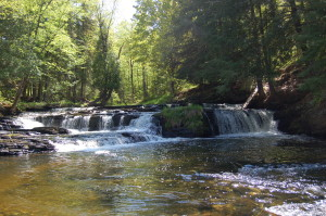 Unnamed Falls River Falls, Baraga County