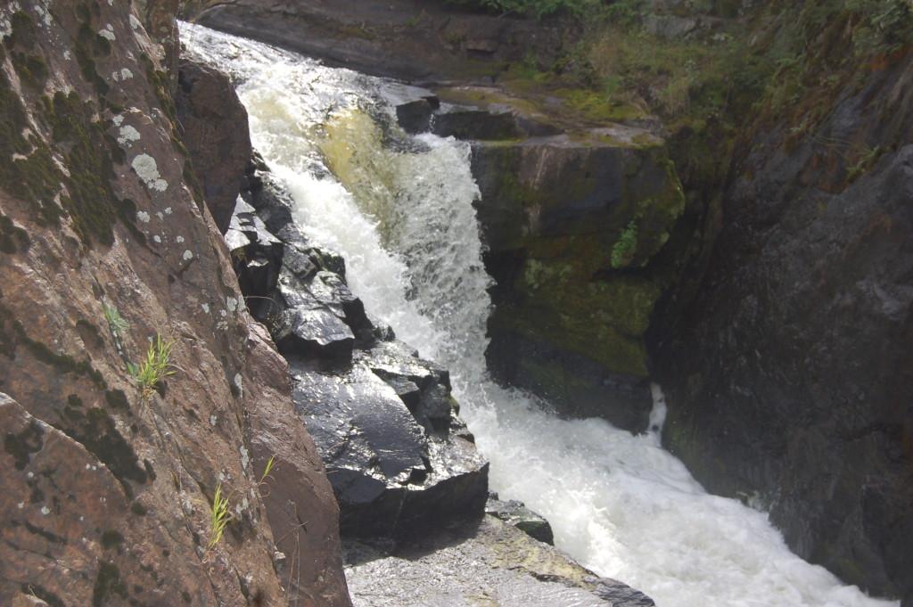 Yondota Falls, Gogebic County