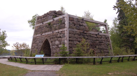 Bay Furnace Historic Site and Campground - Alger County