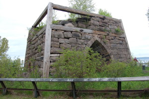 Bay Furnace Ruins National Forest
