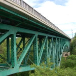 Michigan Roadside Attractions: Cut River Bridge on US-2, Mackinac County