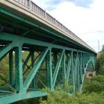 Michigan Roadside Attractions: Cut River Bridge on US-2, Mackinac County