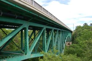 Cut River Bridge Michigan