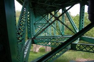 Cut River Bridge Steel Truss
