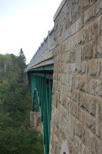 Cut River Bridge Vertical