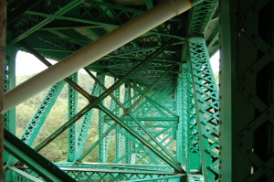 Cut River Bridge underneath