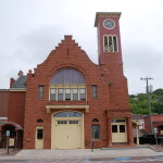Michigan Roadside Attractions: Hancock Town Hall and Fire Hall, Houghton County