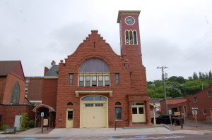 Hancock Town and Fire Hall Michigan