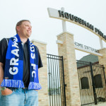 Matt Roberts at Houseman Field
