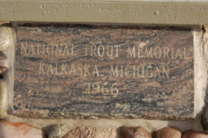 Kalkaska Trout Fountain Marker