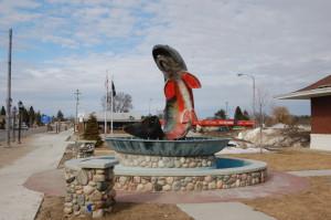 Kalkaska Trout Memorial Side