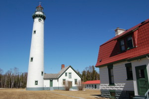 New Presque Isle Lighthouse Michigan