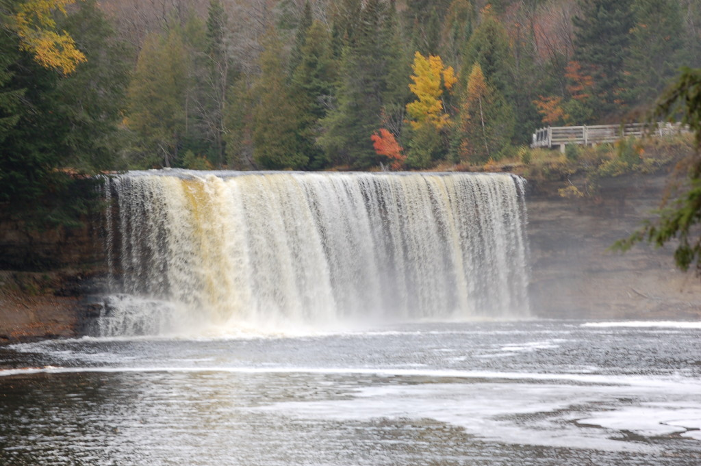 Upper Tahquamenon Falls Autumn