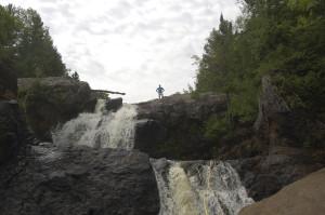 Gabbro Falls Amazing Waterfall