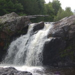 Gabbro Falls on the Black River – A Stunning and Wild Gogebic County Waterfall