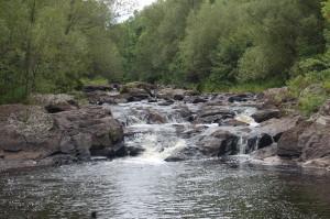 Gabbro Falls Upper Falls