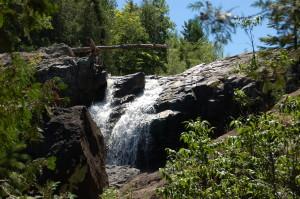 Gabbro Falls Waterfall Michigan