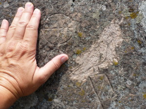 Petroglyphs Near Copper Harbor