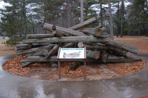 Lumberman's Monument Logjam Information