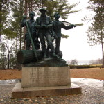 Michigan Roadside Attractions: Lumberman's Monument in Oscoda