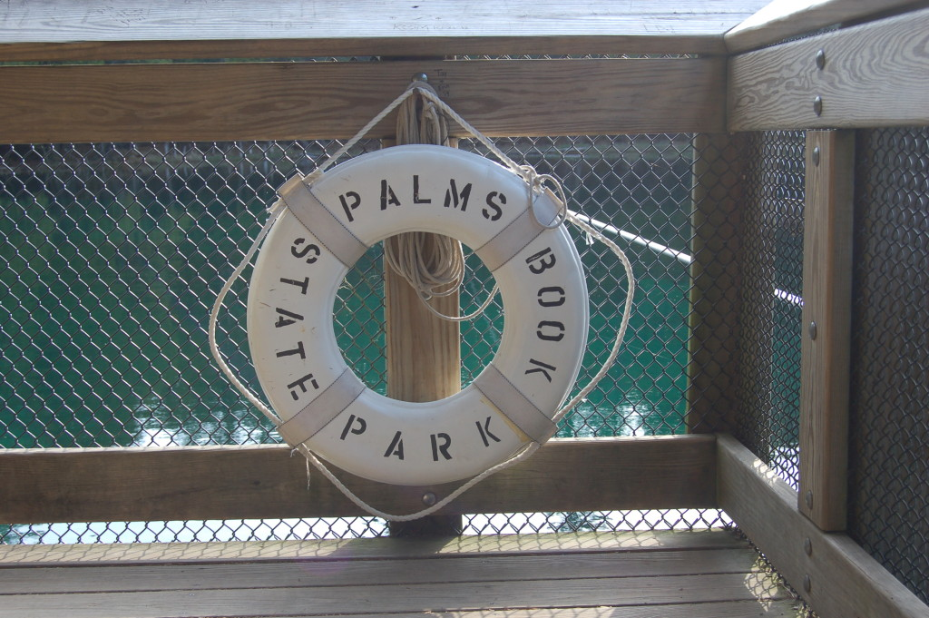Palms Book State Park Raft