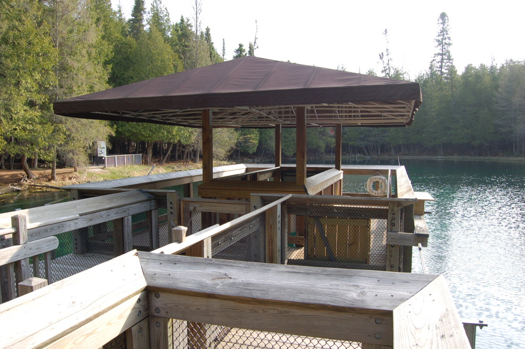 Raft Dock Big Spring