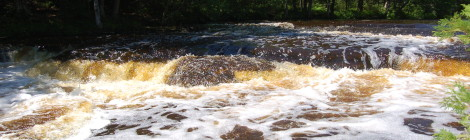 Rapid River Falls and Park - Delta County
