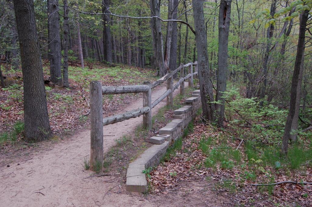 Stairway Pickerel Lake