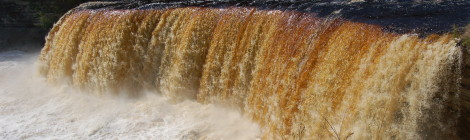 Upper Tahquamenon Falls - Visit Michigan's Most Famous Waterfall at Tahquamenon Falls State Park