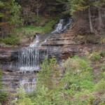 Alger Falls in Munising – One of the Easiest Waterfalls to View in Michigan