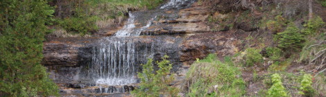 Alger Falls in Munising - One of the Easiest Waterfalls to View in Michigan