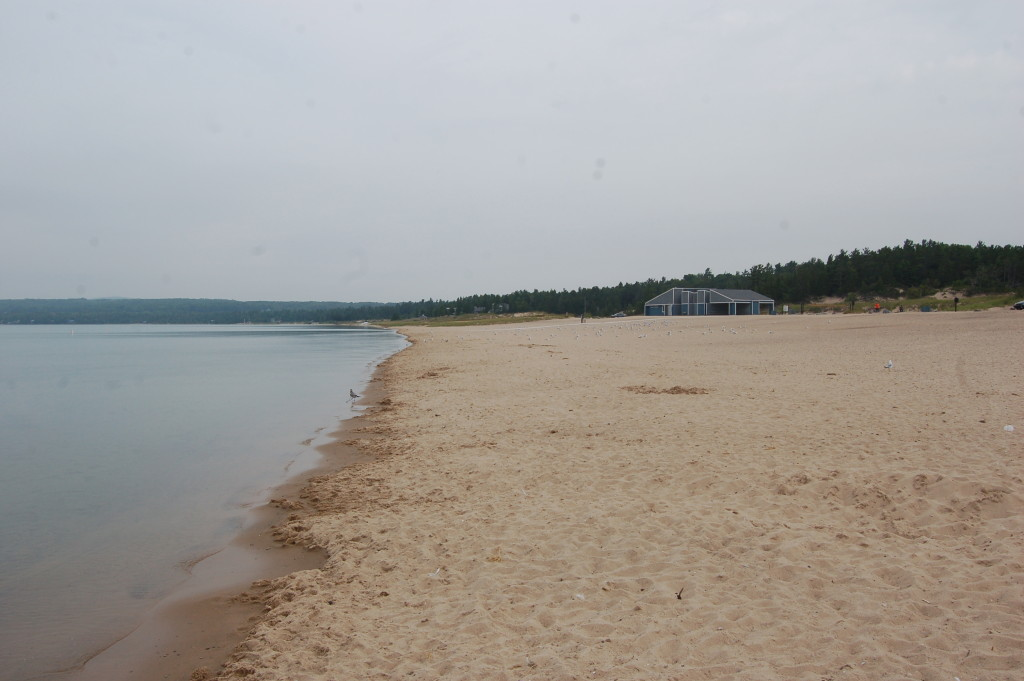 Beach at Petoskey State Park