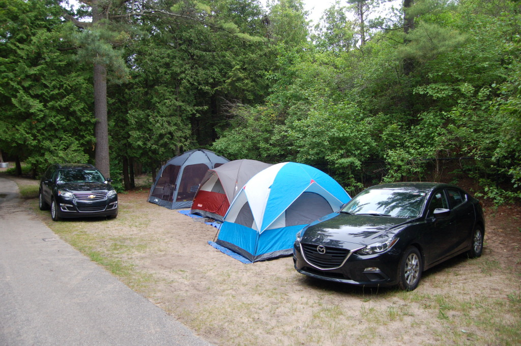 Camp Site 72 Petoskey State Park Michigan