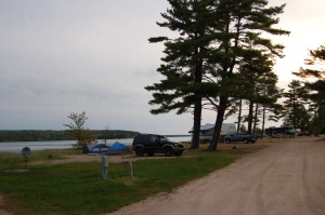 Camp Sites Munising Michigan