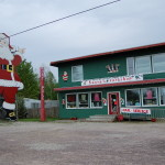 Michigan Roadside Attractions: Santa's Workshop and 35-Foot Tall Santa Claus in Christmas