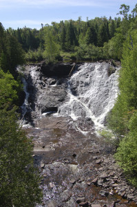 Eagle River Falls Top of Post