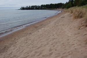 Lake Superior Beach Great Sand Bay Eagle Harbor