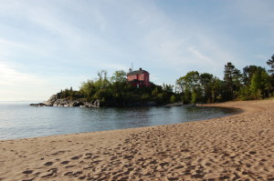 McCarty's Cove Marquette Michigan Lighthouse