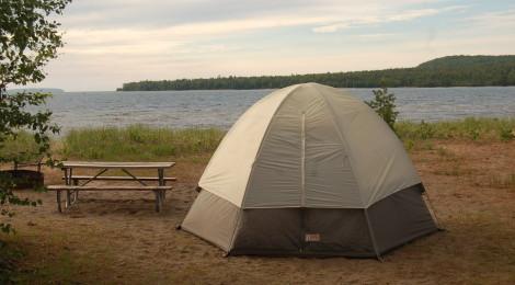 Munising Tourist Park Campground - Stunning Lake Superior Views Close To Pictured Rocks National Lakeshore