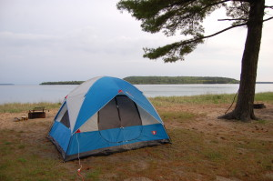 Munising TP campground