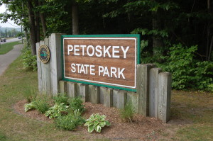 Petoskey State Park Sign