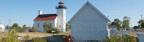 Sand Point Lighthouse - A Historic Museum Site on Little Bay De Noc in Escanaba
