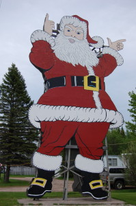 Santa Statue Christmas Michigan