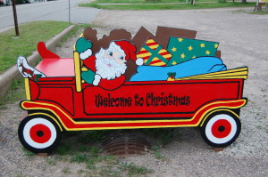 Santa Wagon Christmas Michigan