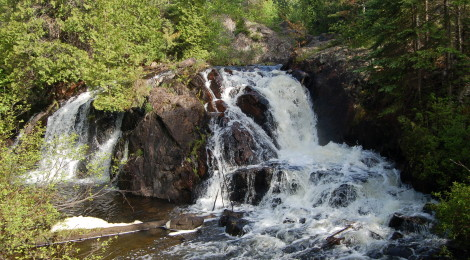 Schweitzer Falls - A Marquette County Waterfall That's Worth The Extra Effort