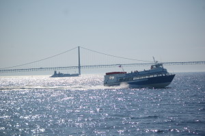 Shepler's Ferry Mackinac Bridge